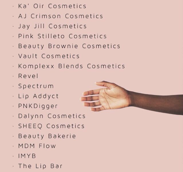 A Quick History On Black Makeup Brands